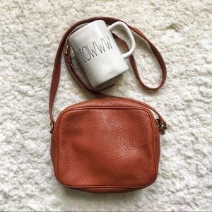 Talbots Pebbled Leather Crossbody Bag
